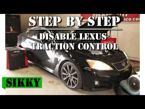 How To Disable Lexus Traction Control Pedal Dance
