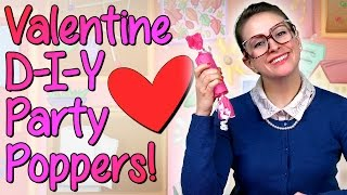 getlinkyoutube.com-Valentines Day - DIY Party Favors - Crafts for Kids w/ Crafty Carol at Cool School