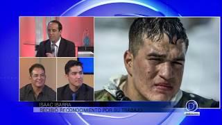 El sargento Isaac Ibarra nos habla de su labor en las Fuerzas Armadas