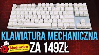 Klawiatura Mechaniczna Hykker z Biedronki za 149 ZŁ