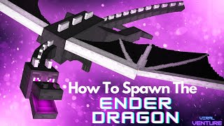 getlinkyoutube.com-How To Spawn An Ender Dragon In Minecraft 1.10