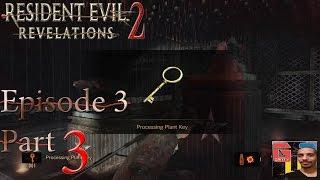 getlinkyoutube.com-Resident Evil: Revelations 2 - EPISODE 3 - Getting The Processing Plant Key PS4 HD