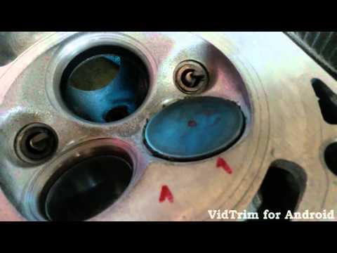 Притирка клапана 112 мотор