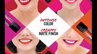 getlinkyoutube.com-First Impression: Maybelline Velvet Matte Liquid Lipstick