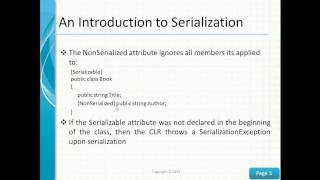 getlinkyoutube.com-Introduction to Serialization