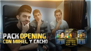 getlinkyoutube.com-FIFA 15 | BRUTAL PACK OPENING CON YOUTUBERS | TOCÓ DE TODO !! DjMaRiiO
