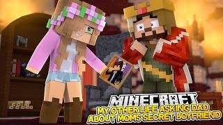 getlinkyoutube.com-TELLING DAD ABOUT MOMS SECRET BOYFRIEND! Minecraft My Other Life w/Little Kelly
