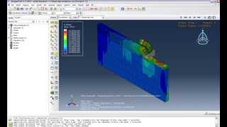 getlinkyoutube.com-Abaqus Tutorial 10 : Chip Formation Part2