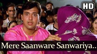 getlinkyoutube.com-Mere Saanware Sanwariya - Govinda - Ayesha Julka - Ekka Raja Rani - Bollywood Funny Song