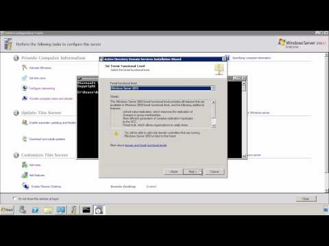 MCITP 70-640: Installing Active Directory