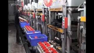 getlinkyoutube.com-EVA Minitype Foaming Machine & EVA Second Foaming Machine