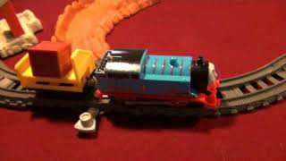 1st video of 2018: Trackmaster Daring Derail Unboxing and Tryout