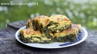 Zeljanik - Zeljanica - Video recept - Kuvaj uzivo