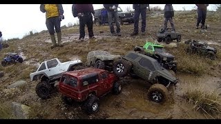 getlinkyoutube.com-11 Axial Rigs and a Twin Hammers - Trailin the Range