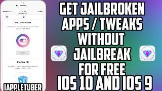 getlinkyoutube.com-Install Jailbreak Apps And Tweaks FREE Without Jailbreaking iOS 10 And iOS 9 - 9.3.5