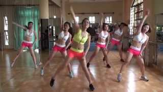 getlinkyoutube.com-Aerobic sôi động( Misa Aerobic)-DVD SO 4