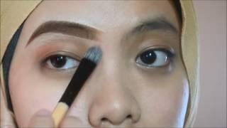 eyebrows tutorial - lukis kening tanpa cukur