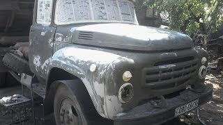 getlinkyoutube.com-Покраска кабины зил 130