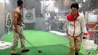 getlinkyoutube.com-ジャパンゴルフフェア2015 和田正義プロ