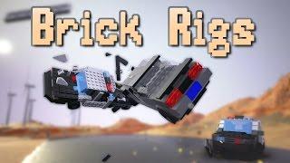 getlinkyoutube.com-Brick Rigs - LEGO DESTRUCTION SIMULATOR | Crashes & Fails