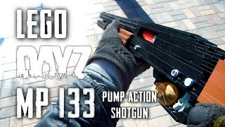 getlinkyoutube.com-DayZ: Standalone: LEGO MP-133 Pump Action Shotgun