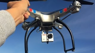 SYMA X8G 1080P HD CAMERA TEST FLIGHT