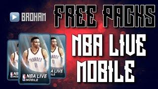 getlinkyoutube.com-HOW TO GET FREE PACKS ON NBA LIVE MOBILE!! - NBA LIVE MOBILE