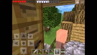 getlinkyoutube.com-Minecraft Pe Loquendo | Serie Survival | Cap 4 - Aldea traficante