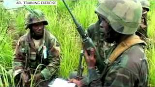 getlinkyoutube.com-Armed Forces of Liberia on the Rebound:  Jungle Warfare Training Exercise