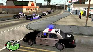 getlinkyoutube.com-What Would Happen If I Played GTA Like Real LAPD? - GTA SA