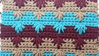 getlinkyoutube.com-CROCHET  How to Crochet the Puff Spike Stitch #TUTORIAL #128 LEARN CROCHET