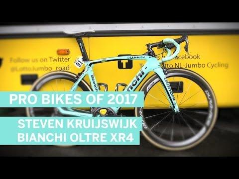 Steven Kruijswijk's Bianchi Oltre XR4   Pro Bikes of 2017   Cycling Weekly