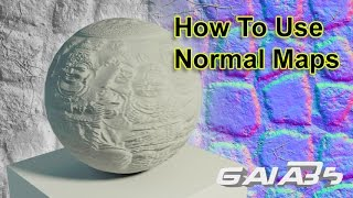 How To Use Normal Maps In 3DS Max (No plugins)