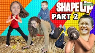 getlinkyoutube.com-Shape Up pt. 2! Mom Works Out! FGTEEV Fitness Challenge Fun! (Xbox One Face Cam Gameplay)