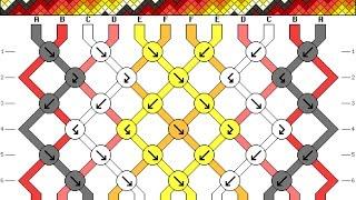 getlinkyoutube.com-como seguir patrones macrame | nudos para realizar patrones macrame