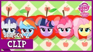 "getlinkyoutube.com-MLP: FiM – Apple Family vs Flim & Flam ""The Super Speedy Cider Squeezy 6000"" [HD]"