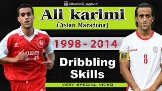 Ali Karimi | 1998-2014 | Dribbling,Skills (very special video) HD علی کریمی