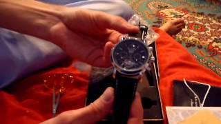 getlinkyoutube.com-KS Automatic Mechanical Tourbillon Day Date Sport Watch