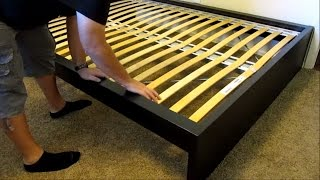 IKEA Malm high bed assembly - DETAILED! width=