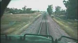 First Person View Train Wreck