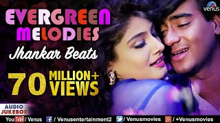 Evergreen Melodies - Jhankar Beats | 90'S Romantic Love Songs | JUKEBOX | Hindi Love Songs width=