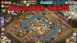 getlinkyoutube.com-Castle Clash: Halloween Skin Update!!!