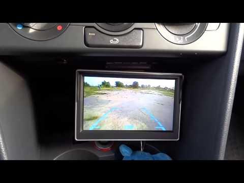 VW polo sedan/камера заднего вида, движение