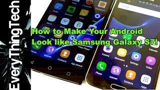 getlinkyoutube.com-How to make your Android look like Samsung Galaxy S7?