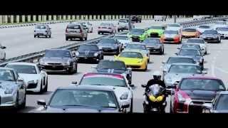 getlinkyoutube.com-Convoi Nissan GTR R35 at Penang