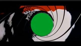 James Bond Green Screen Gunbarrel Pierce Brosnan