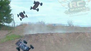 getlinkyoutube.com-RC ADVENTURES - NiTRO MADNESS - Short Course, Monster Trucks, Buggies & Truggies