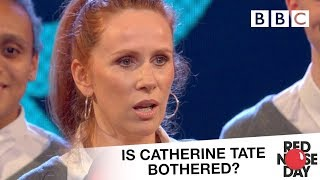 Is Catherine Tate bothered about Red Nose Day? - Comic Relief 2017: Red Nose Day