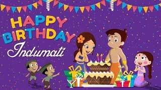 getlinkyoutube.com-Chhota Bheem - Rajkumari Indumati ka Janamdin   Happy Birthday Indumati
