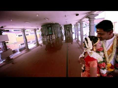 """Indian (Hindu) Wedding in KLANG, Malaysia. """"Madharasapattinam - Pookal Pookum"""""""